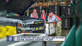 GM investing $24M in Fort Wayne, Indiana assembly plant