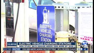 Denver will need more electric charging stations - Video