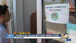 Starbucks Refugee Hiring - Video