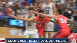 Hy-Vee Game of the week: Olathe Northwest beats Olathe East - Video