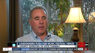 Music festival venue goes before county supervisors - Video