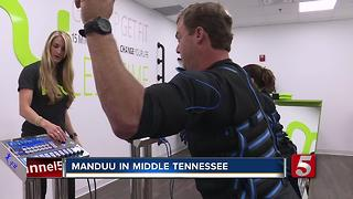 Manduu, New 15-Minute Workout, Comes To Cool Springs - Video