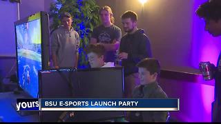 BSU holds e-sports launch party - Video