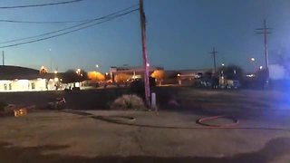 Smoker ignites fire at Goodwill store - Video