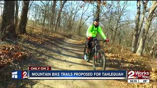 Tahlequah group working to get mountain bike trail system started - Video