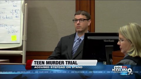 Stepdad takes stand again in murder trial