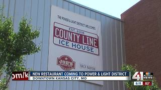 County Line Ice House coming to Power & Light District - Video