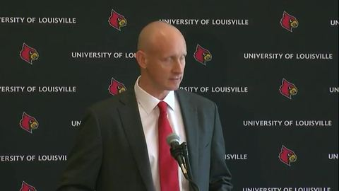 University of Louisville introduces Chris Mack as new basketball coach