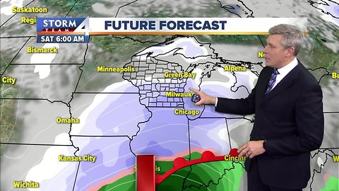 Chilly Wednesday night with lows in the teens