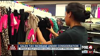 Sales tax hike considered in Collier County - Video