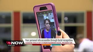Your personal info accessible through facial recognition - Video