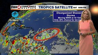 Tropics Update Saturday 8/3 PM
