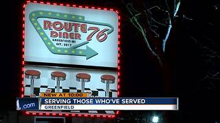 Restaurateur giving free Thanksgiving meals to vets wants to say thank you - Video