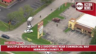 Multiple people shot in Spring Hill | Action Air 1 - Video