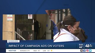 Impact of campaign ads on voters