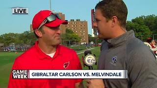 Gibraltar Carlson vs. Melvindale is our High School Game of the Week - Video