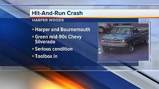 Police looking for hit-and-run driver in Harper Woods - Video