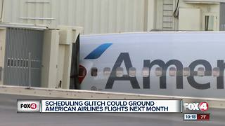 Dispute over pilot vacations could delay American flights - Video