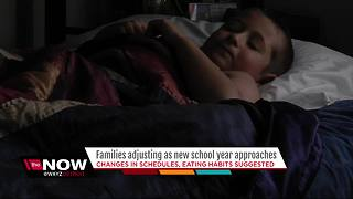 Families getting ready for new school year - Video