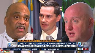 Fitzgerald nominated to be next Baltimore Police Commissioner