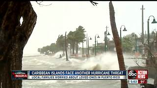 Tampa Bay residents worry about friends and family in Puerto Rico as Hurricane Maria approaches - Video