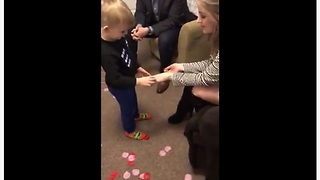 Emotional Toddler Refuses To Let His Mom Get Married To Anyone But Him - Video