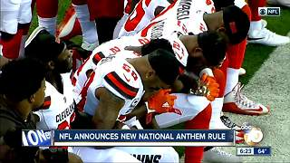 NFL Anthem 6pm  Let's Talk - Video