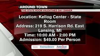 Around Town 2/13/18: State Room Valentine's Day Dinner - Video