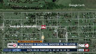 Shots fired in Clewiston, 1 person injured - Video
