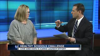 CHW  launches new healthy school challenge - Video