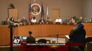 Lansing City Council to elect new leaders - Video