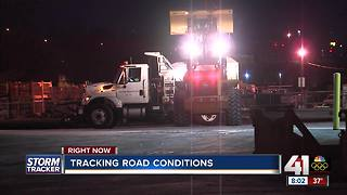 Road crews plan for icy conditions - Video