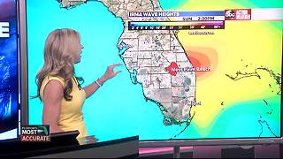 Hurricane Irma Update | Florida's Most Accurate Forecast with Shay Ryan on Thursday at 1:00 pm - Video