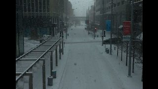 Snow Emergency Declared in Minneapolis as Blowing Snow Blankets Roads