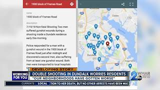 Double Shooting in Dundalk worries residents - Video