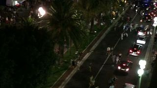 Aerial View Captures Aftermath of Nice Incident - Video