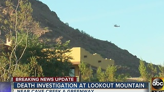 FD: Man falls, dies on Lookout Mountain in PHX - Video