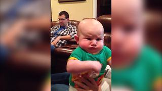 A Baby Boy Makes Hilarious Faces - Video