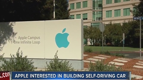 Apple shows interest in building self-driving car