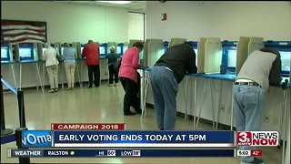 Early voting ends Monday