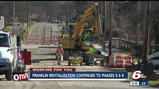 City of Franklin revitalization project moves forward; road closures could impact local businesses - Video