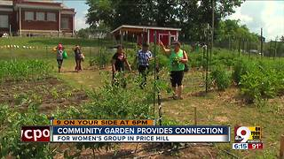 Community garden provides connection - Video