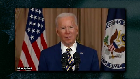 Biden Declares To State Department Personnel That America Is Back, Claims To Be Shot At...Again