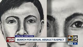 Search underway for Apache Junction sexual assault suspect - Video