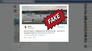 Fake Hurricane Harvey photos - Video