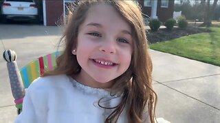 5-year-old Lewiston girl celebrates birthday with social distancing parade