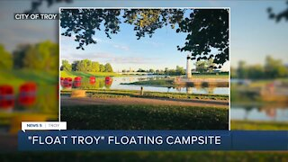 Ohio has the country's only floating campsite