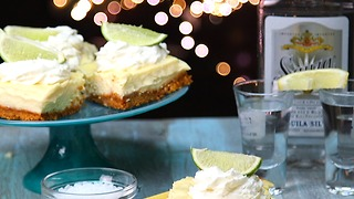 Tequila-Lime Cheesecake Bars - Video