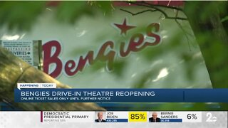 Bengies Drive-In theatre reopening