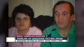 Families of workplace shooting speak out - Video